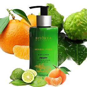 Biyokea Herbal Pure - Fruity Body Lotion - Dưỡng thể 320ml