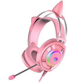 Tai Nghe Gaming Dareu EH469 Pink (Âm Thanh 7.1) - Hàng Chính Hãng