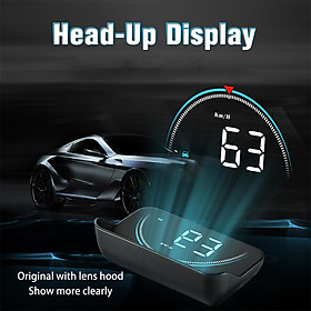Car OBD2 Head Up Display OBD Hud Digital Speedometer Colorful Windshield Projector Specification:M8