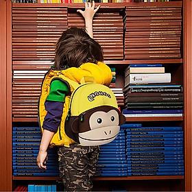 Balo cho bé Nohoo Khỉ Con Năng Động NH021-4