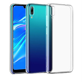Ốp lưng silicone dẻo trong suốt dành cho Huawei Y7 Pro 2019