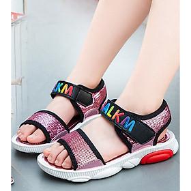 Dép sandal bé gái êm chân đi học , đi chơi xinh xắn 3 - 13 tuổi - SD61H