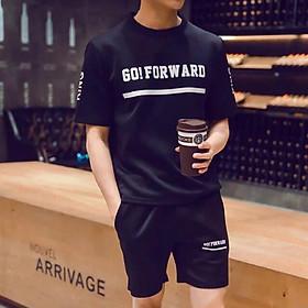 Bộ quần áo thể thao nam nữ in go!forward