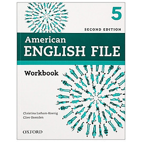 American English File: Level 5: Workbook - 2nd Edition