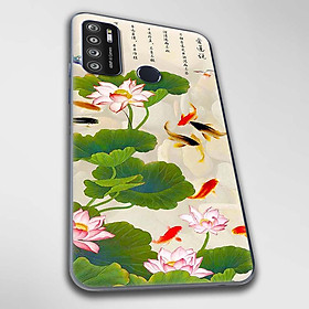 Ốp lưng dành cho Vsmart Live 4 mẫu Hoa sen cá