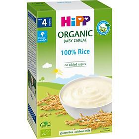 BỘT ĂN DẶM HIPP Bột gạo Nhũ nhi Organic 100%