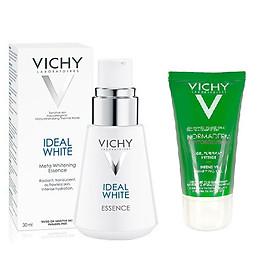 Tinh Chất Dưỡng Trắng Sâu 7 Tác Dụng Vichy Ideal White Meta Whitening Essence - (30ml) Tặng Gel Rửa Mặt Vichy 50ml