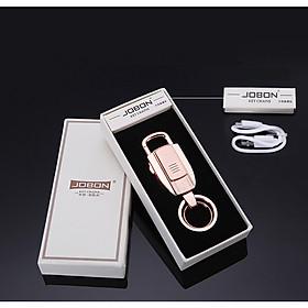 Móc Chìa Khóa Jobon Key Chains ZB-8755-3 Kiêm Quẹt Lửa - Vàng Đồng
