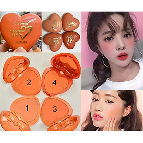 Má hồng Tim Kiss Beauty LifeLong Love Blusher 83528-1