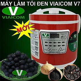 Máy làm tỏi đen VIAICOM V7 Đỏ - Công nghệ Nhật Bản - Hàng chính hãng