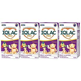 Thùng 48 Hộp Sữa Uống Dinh Dưỡng IQLac Pro Biếng Ăn Suy Dinh Dưỡng - Premium (110ml/ Hộp)