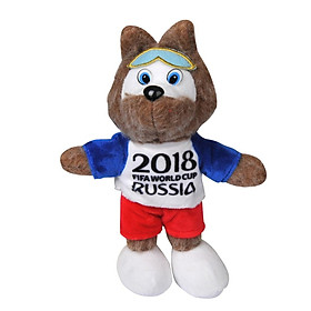Thú Nhồi Bông Hình Linh Vật Zabivaka IFA World Cup 2018