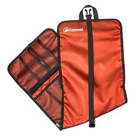 Rock Climbing Carabiner Storage Bag Hardware Buckle Holder Pouch Black