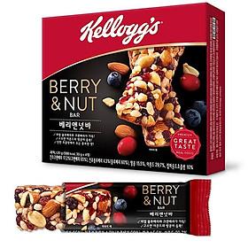 Kellogg's Berry & Nut Bar 4P 120g