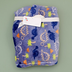 khăn xanh họa tiết khủng long cho bé