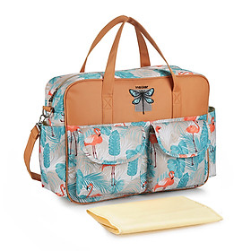 Baby Diaper Bag Shoulder Bag Handbag Large Capacity Mummy Nappy Nursing Bag Tote Bags Travelling Storage Bag For Baby