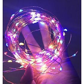 Dây đèn nháy led đom đóm trang trí 10M, 5M, 2M, USB, Pin, nháy,  On/Off
