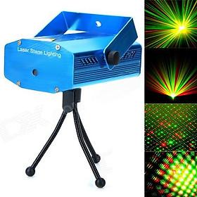 Đèn Chiếu Laser Mini Sân Khấu Đa Năng