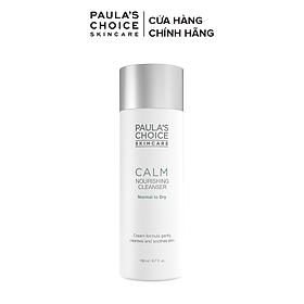 Sữa rửa mặt dịu nhẹ Paula's Choice Calm Redness Relief Cleanser Dry Skin