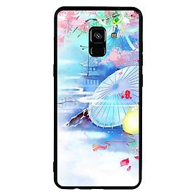 Hình đại diện sản phẩm Ốp lưng viền TPU cho điện thoại Samsung Galaxy A8 Plus 2018 - Diên Hi Công Lược Mẫu 7