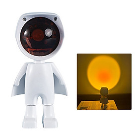 Đèn Sunset Robot cảm ứng XT4A - Đèn hoàng hôn, sunset chụp hình, decor, trang trí nội thất, quán cafe, quay video tiktok hot trend giá rẻ, ánh sáng tốt, công suất cao - Xoay 360 độ dễ dàng, thiết kế cực đẹp mắt