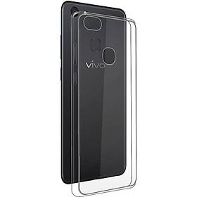Ốp lưng silicon dẻo trong suốt loại A cao cấp cho VIVO V7 Plus