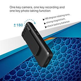 Portable 1080P Mini Body Camera Personal Portable Hidden Cam & Back Clip