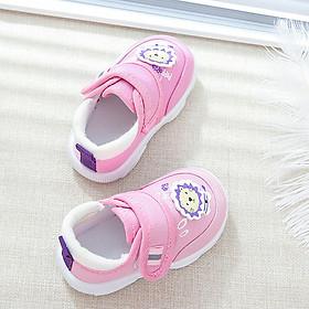 Giày Cho Bé Gái 1 - 2 - 3 Tuổi Cao Cấp G001 ( Hồng)