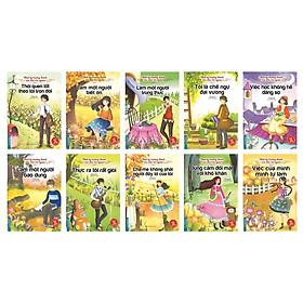 Nhật ký trưởng thành của đứa trẻ ngoan - Bộ 10 cuốn Tặng 400 câu đố luyện trí thông minh