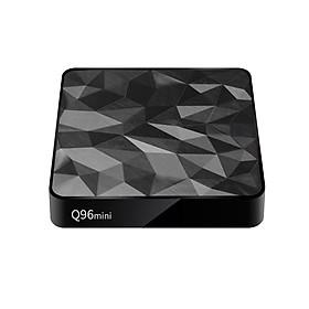 Box TV Thông Minh Chạy Android 7.1 Hỗ Trợ Chuẩn UHD 4K Kết Nối Wifi Và Mạng LAN Q96mini S905W (2.4G)