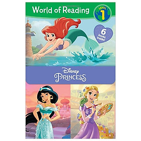 World of Reading Disney Princess Level 1 Boxed Set