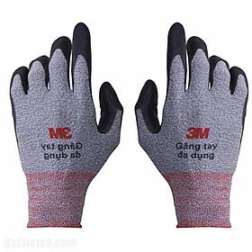 5 Đôi găng tay bảo hộ lao động 3M, size L, màu xám