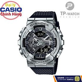 Đồng Hồ Nam Casio G-Shock GM-110-1ADR Chính Hãng | G-Shock GM-110-1ADR Silver Metal Dây Nhựa