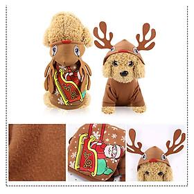 Áo Quần Noel cho Chó Mèo - Quần Áo Giáng Sinh Thú Cưng (1 Sản phẩm)