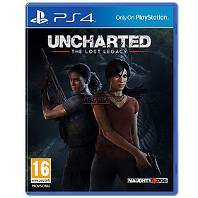 Đĩa Game Ps4: Uncharted The Lost Legacy - Hàng Nhập Khẩu