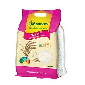 Gạo Hạt Ngọc Trời Tiên Nữ Túi 5kg - Gạo Ngon Tiến Vua