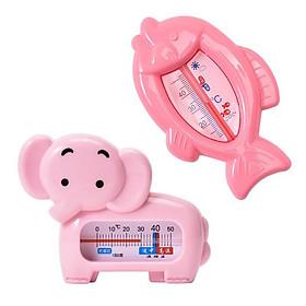 Nhiệt kế đo nước tắm cho bé hình cá, voi không thấm nước, làm đồ chơi cho bé,nội địa Trung cao cấp