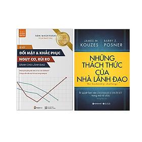 Combo 2 Cuốn: Bí Kíp Đối Mặt & Khắc Phụ Nguy Cơ, Rủi Ro Dành Cho Lãnh Đạo + Những Thách Thức Của Nhà Lãnh Đạo
