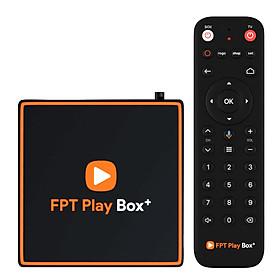 Android FPT Play Box + 2021, Ram 2GB, HĐH ATV 10 bản quyền, Kết nối bluetooth, Điều Khiển Bằng Giọng Nói, 150 kênh truyền hình  4k và giải trí không giới hạn tặng kèm Tai nghe bluetooth cao cấp - Hàng Chính hãng
