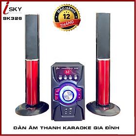 Loa Karaoke Gia Đình I-SKY SK326 Kết Nối Tivi , Iphone, Ipad, Smartphone Âm Thanh Hifi Siêu Bass - Hàng Chính Hãng SKYNEW