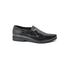 Hình đại diện sản phẩm Giày Tây Nam Da Bò Hải Nancy LTG1531D - Đen