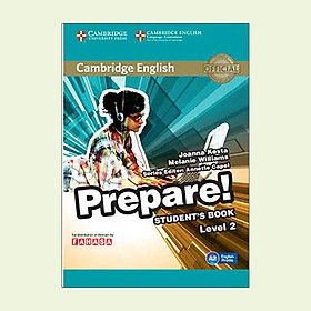 Cambridge English Prepare! Level 2 Student's Book - FAHASA Reprint