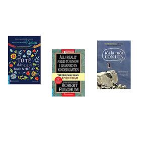 Combo 3 cuốn sách: Tử Tế Đáng Giá Bao Nhiêu? + Trường Mẫu Giáo Uyên Thâm +Tôi là một con lừa (Tái bản)