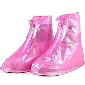 Ủng bọc giày đi mưa chất liệu nhựa dẻo siêu bền đẹp chống trơn trượt