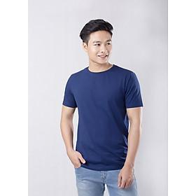 Áo thun xanh navy cổ tròn Coolmate