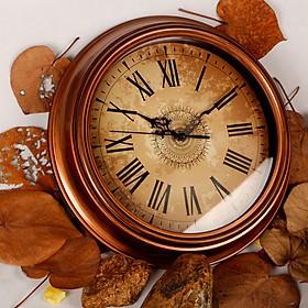 Đồng hồ treo tường phong cách Châu Âu - thiết kế La Mã