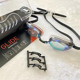 """Kính bơi chuyên nghiệp nhập khẩu từ Đức Aquafeel dòng """"Glide Mirrored"""" siêu nhẹ, tiêu chuẩn Châu Âu, phù hợp để tập luyện và thi đấu dành cho Nam, Nữ, Trẻ em nhiều độ tuổi Freesize"""