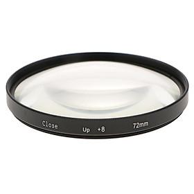 Close-up Macro Filter Ring +8 For Canon Nikon Pentax Sony Digital Camera