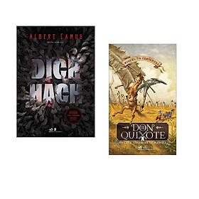 Combo 2 cuốn sách: Dịch hạch + Don Quixote nhà quý tộc tài ba xứ Mancha tập 2