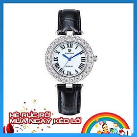 Đồng hồ nữ PAGINI dây da mặt tròn – Mặt kính tráng sapphire - Thiết kế trẻ trung, hiện đại – PA6305